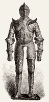 medieval armour of Henry II, King of France