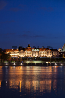 Royal Castle in city of Warsaw