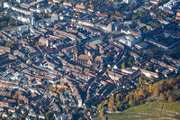 Aerial view of Freiburg, Germany