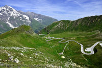 Grossglockner High Alpine Road; alps; Austria; Europe;