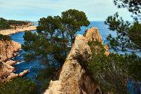 Rocky seaside of Costa Brava. Spain