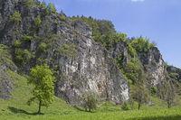 Climbing area Labertalwand near Schoenhofen
