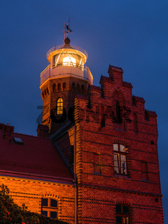 Historical Lighthouse in Ustka