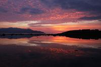 Sonnenuntergang Brandon Bay, Irland