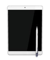Tablet and digital pen