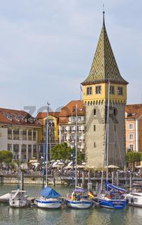 Mangturm, Lindauer Hafen