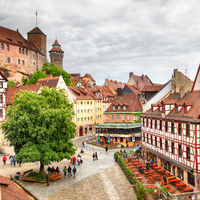 Old Town in Nuremberg