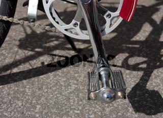 Fahrradpedal verchromt, 2