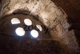 inside St. Nicholas church in Demre, Turkey