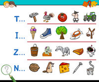 first letter educational activity