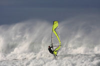 Windsurfing in Gowlane, Ireland