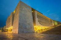 Parliament of Malta in Valletta,European culture capital