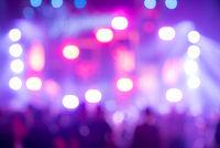 Blurred background  Concert