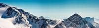Bergpanorama Stubaier Gletscher