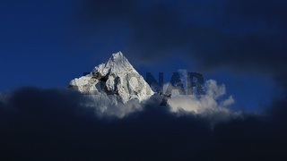 Peak of mount Ama Dablam