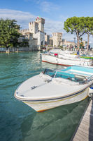 castle in Sirmione Italy
