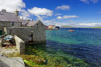 Old Lerwick harbour