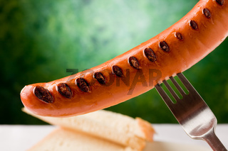 Grilled Sausage - Hot Dog