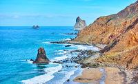 Benijo beach inTenerife