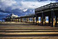 Pier of Blankenberge, Flanders, Belgium