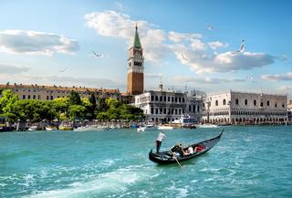 Belltower in Venice