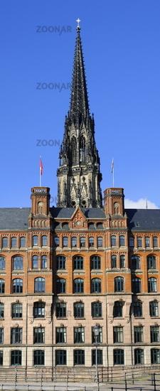 Hamburg, Germany, St Nikolai Church