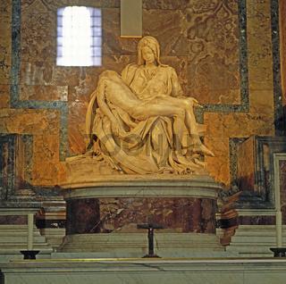Pieta von Michelangelo, Petersdom, Rom, Vatikan