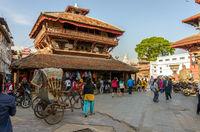 Kathmandu Durbar Square in Nepal