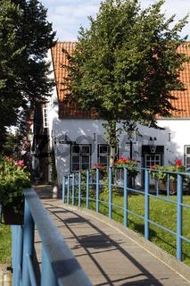 Mittelburgwall, Friedrichstadt, Nordfriesland, Deutschland