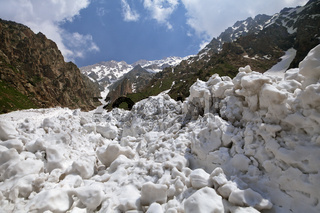 After an avalanche