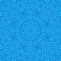 Blue abstract pattern