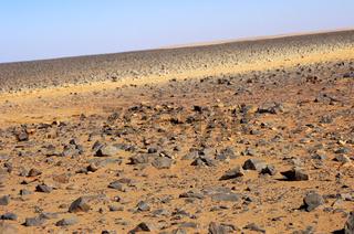 Hammada Wüstenlandschaft, Libyen