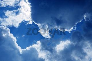 Wolken und Himmel