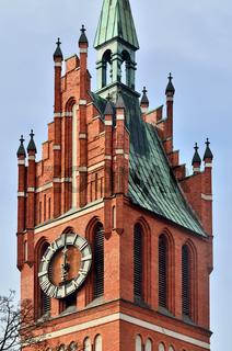 Kirche der Heiligen Familie. Kaliningrad, ehemaliger Königsberg, Russland