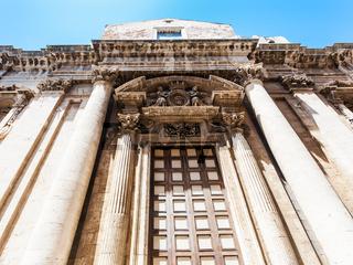 facade of Church Chiesa del Collegio dei Gesuiti