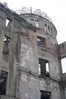 Ruins of the A bomb dome, Hiroshima, Japan
