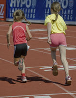 Track and Field: 600m - young girls