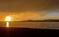Sonnenuntergang am Ogii Nuur See