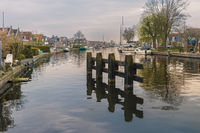 Lemmer on the main canal to the west.
