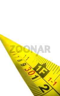 Isolated Tape Measure