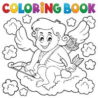 Coloring book with Cupid 3