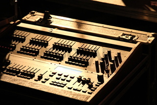 Mixer unit backstage