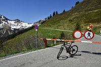alpine pass; Austria; Europe; bicycle tour;