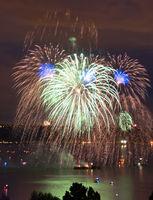 July 4th Celebration Commencement Bay Tacoma Washington