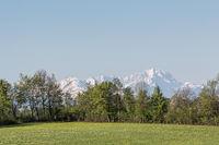 Landscape near Deining in Upper Bavaria