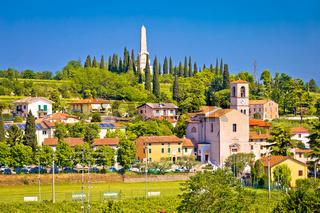 Village of Custoza idyllic landscape view