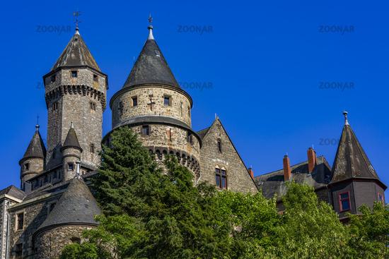 Braunfels Castle, Braunfels, Hesse, Germany