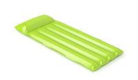 Green floating pool mattress