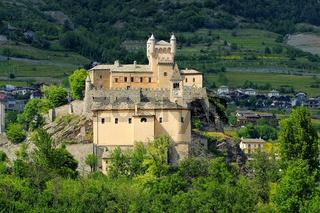 Saint-Pierre Castello im Aostatal - Saint-Pierre Castello in Aosta Valley, Italy