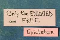 only educated